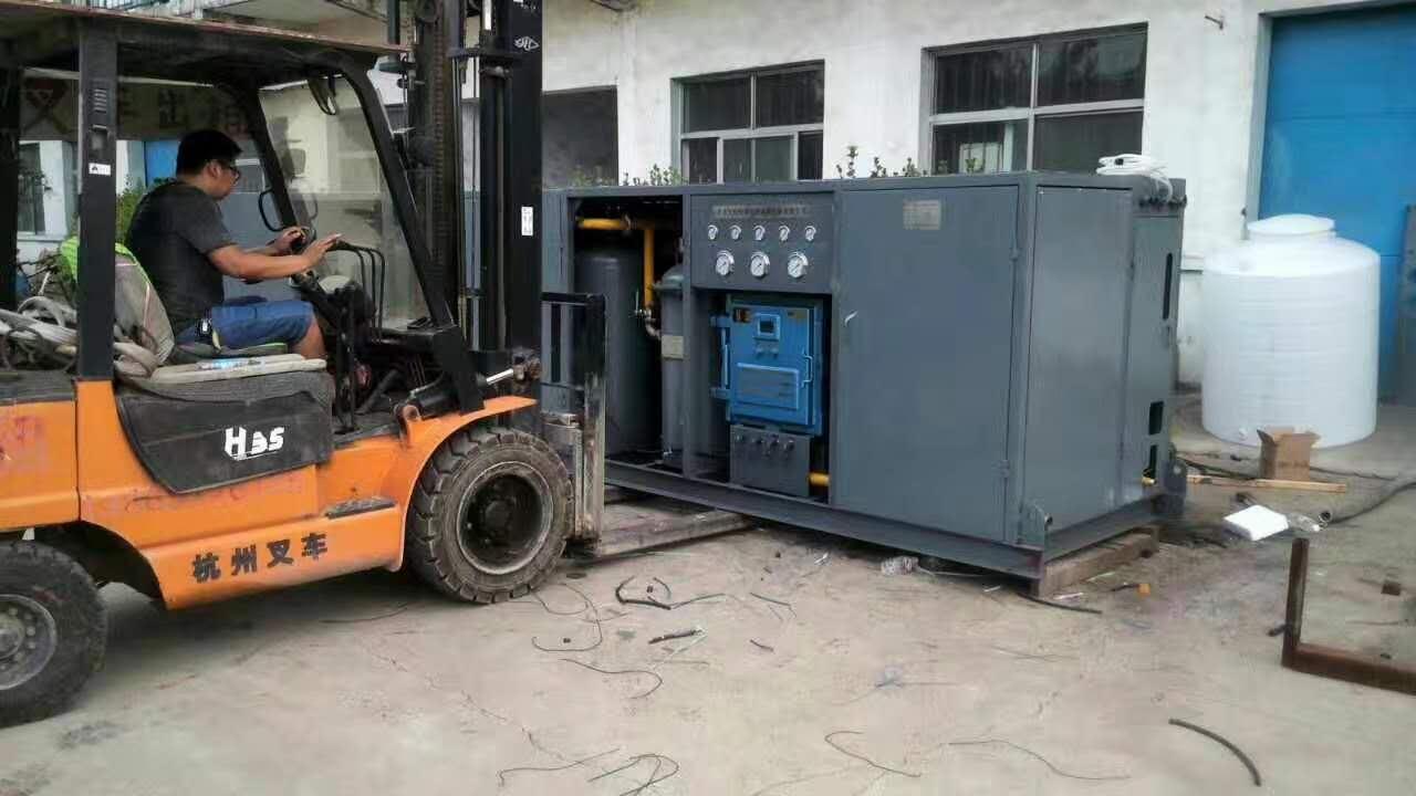 2017年6月15日喜报:陕煤集团神木红柳林煤矿再次订购综采工作面水质净化设备2套