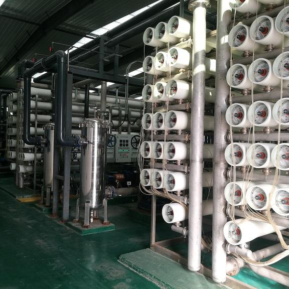 400吨/小时超滤+反渗透设备