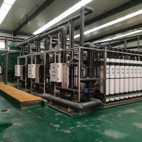南乐县自来水厂400t/h超滤+反渗透项目