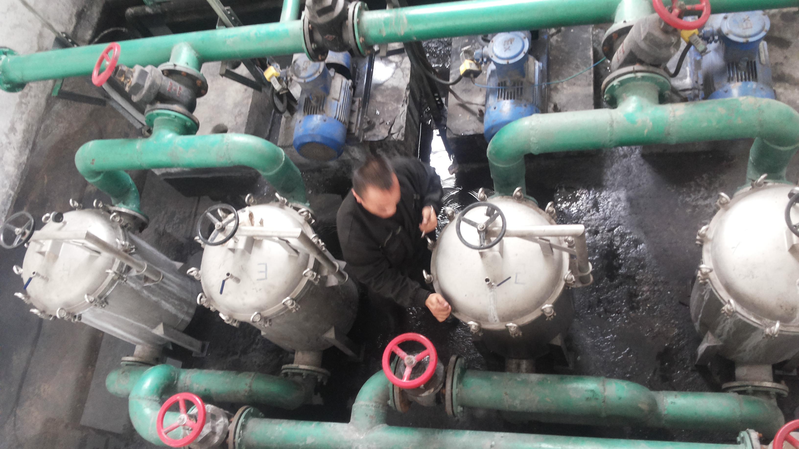 山西西山煤电屯兰煤矿再次订购我公司瓦斯抽采专用水质处理器1套