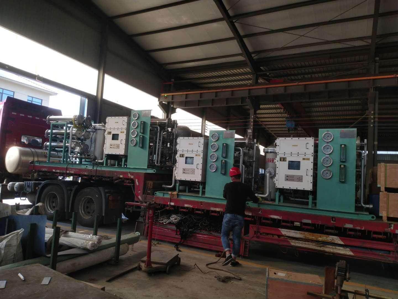 义马煤业集团订购我公司8套井下在线自清洗综合供水净化站发货完毕。