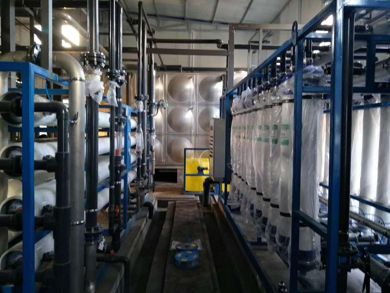 我公司承接山西东辉集团西坡煤矿矿井废水、生活污水深度处理回用工程
