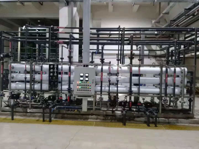 霸州中电环保20吨/小时除盐水处理设备